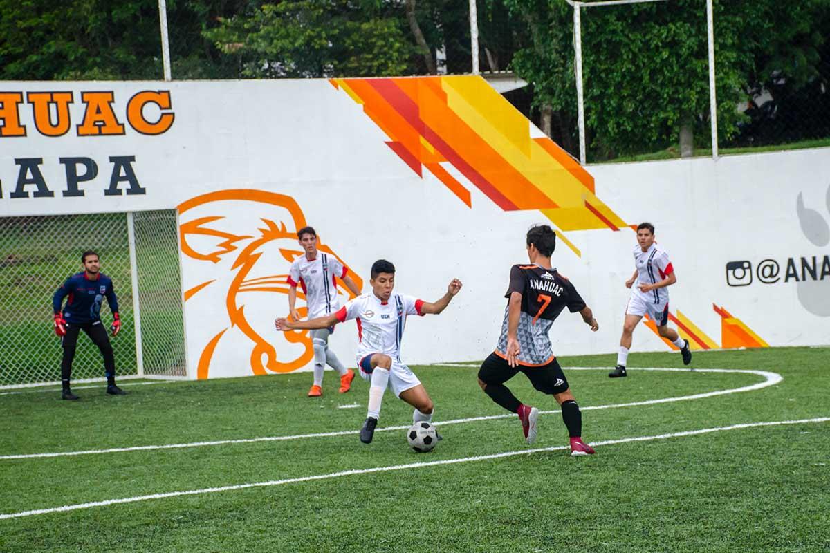 6 / 7 - Leones Fútbol Rápido Varonil vs Universidad Euro Hispanoamericana.
