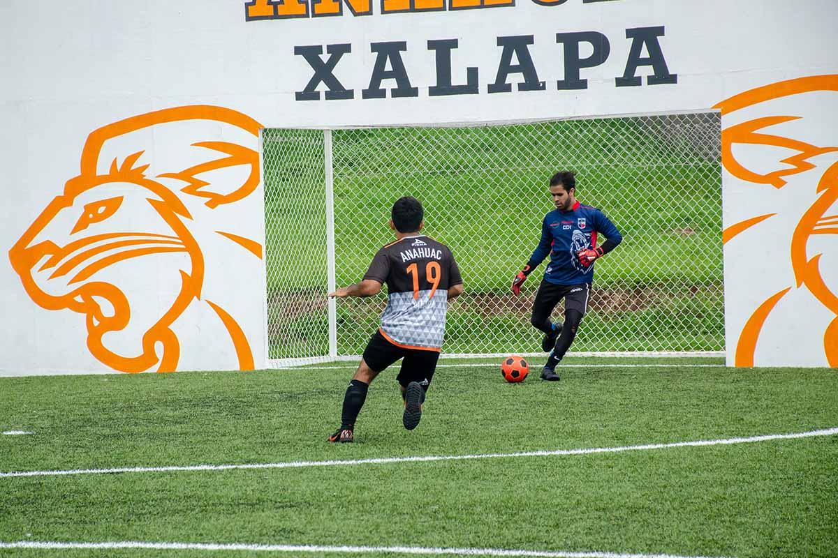 7 / 7 - Leones Fútbol Rápido Varonil vs Universidad Euro Hispanoamericana.