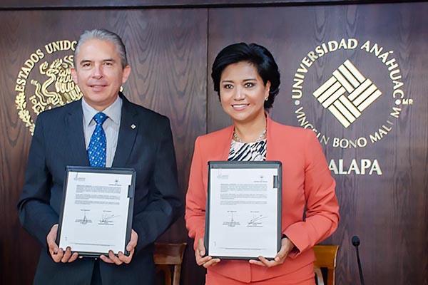 La UAX y el ISSSTE refrendan su compromiso por Veracruz