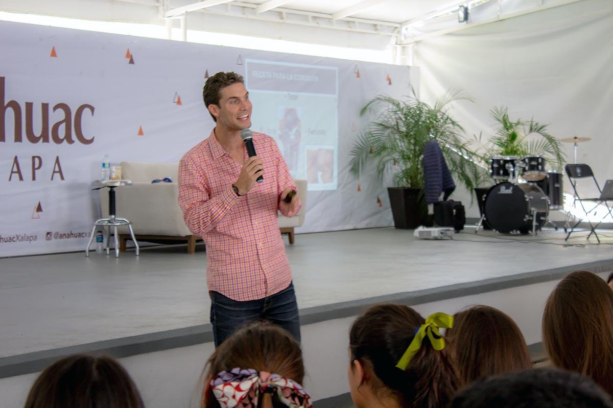 El Mtro. Evan Lemoine es cofundador del instituto Amar al Máximo.