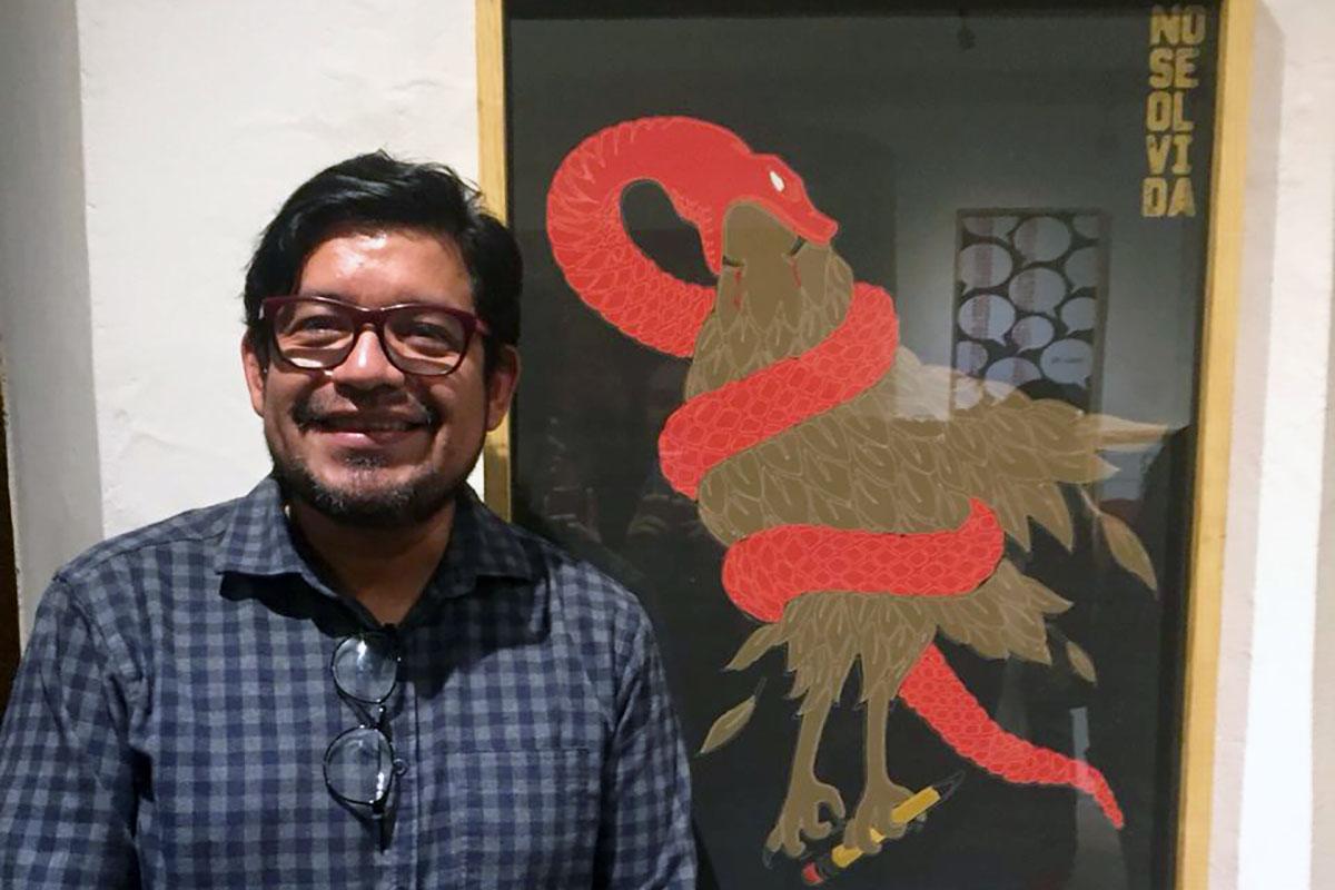 1 / 5 - Mtro. César Benítez Sánchez, coordinador de Diseño Gráfico.