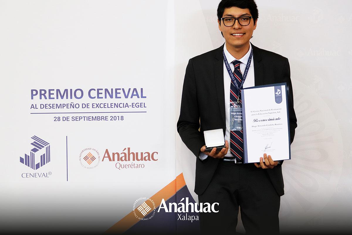 4 / 5 - Hugo Armando Córdoba Bautista, Ingenieria Mecatrónica.