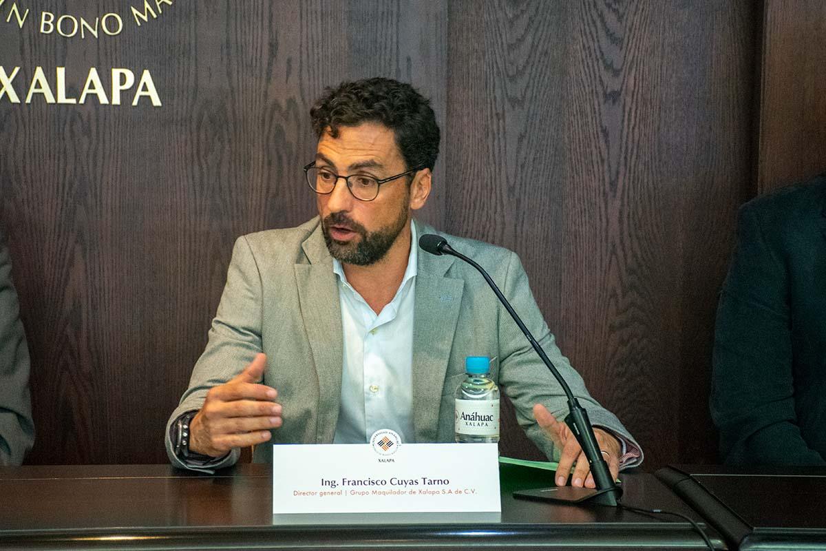 Ing. Francisco Cuyas Tarno, director general de Grupo Maquilador de Xalapa.