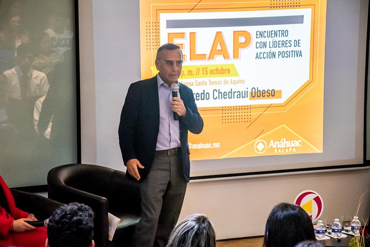 1 / 4 - Dr. Alfredo Chedraui Obeso, Presidente del Patronato.