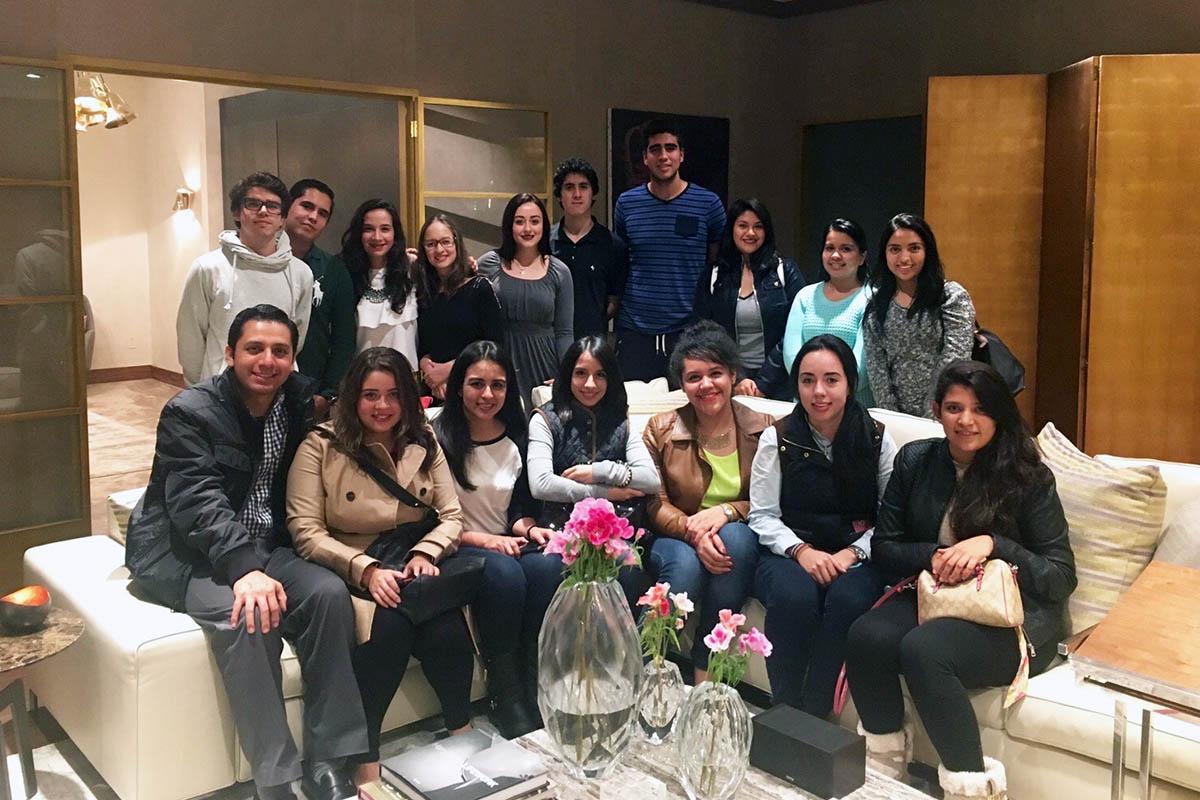 10 / 34 - Visita en 2015 a El Palacio de Hierro.