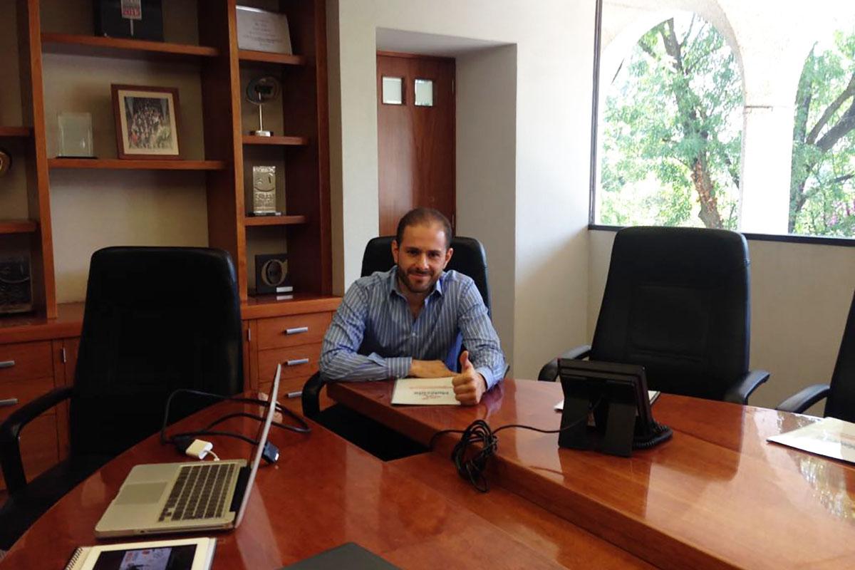 27 / 34 - José Raúl Pontones D´Arcangelis, director general en Agencia Molécula.