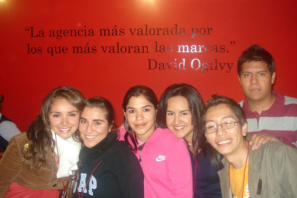 16 / 34 - Visita en 2008 a la agencia Ogilvy.