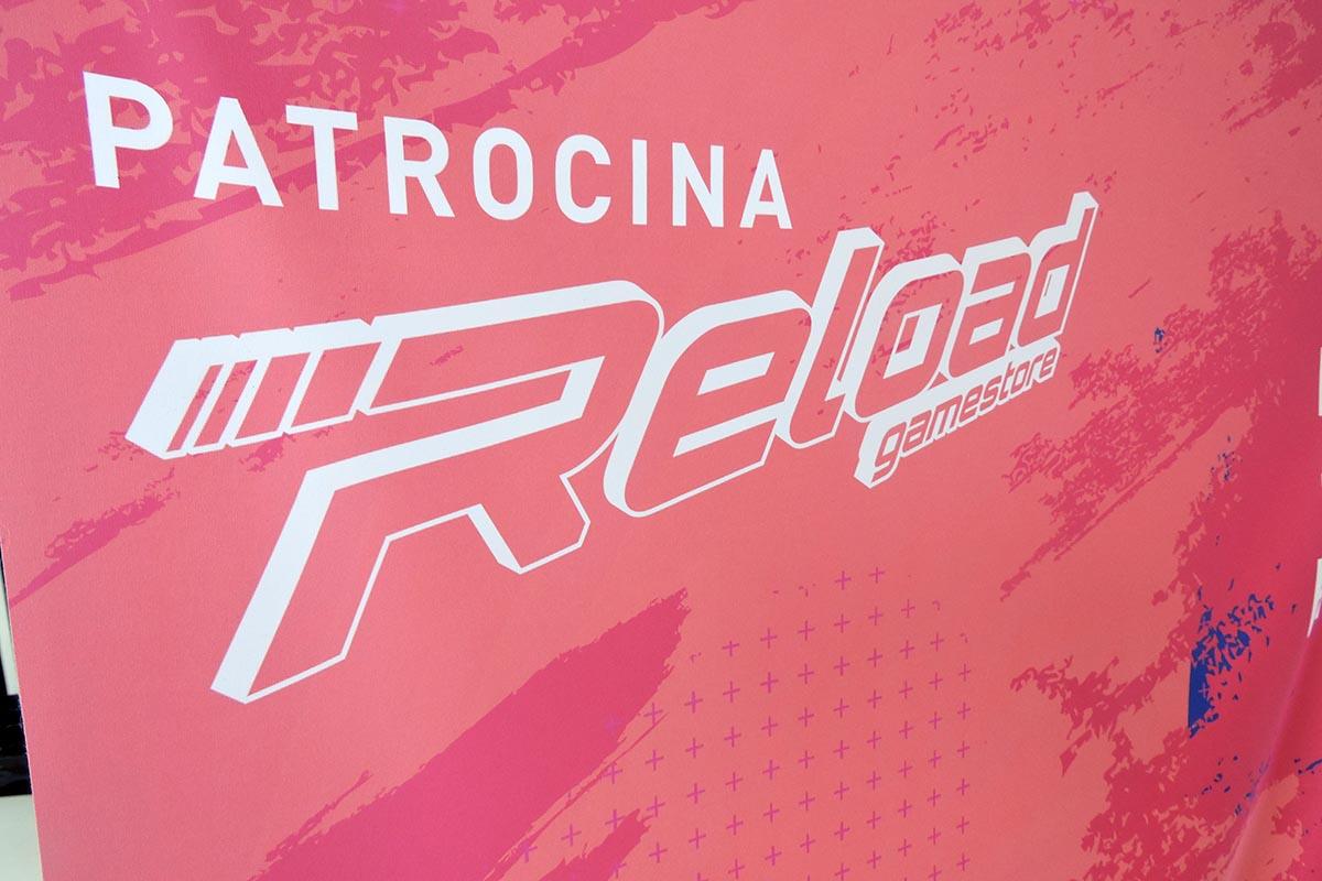 4 / 4 - Reload Gamestore patrocinador oficial del torneo.