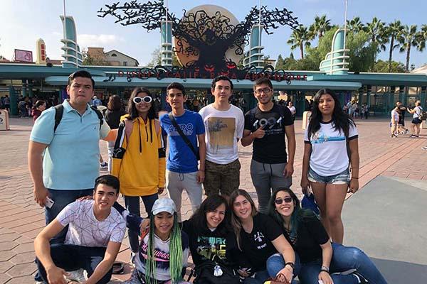 Viaje de Estudios de la Escuela de Comunicación a Los Angeles