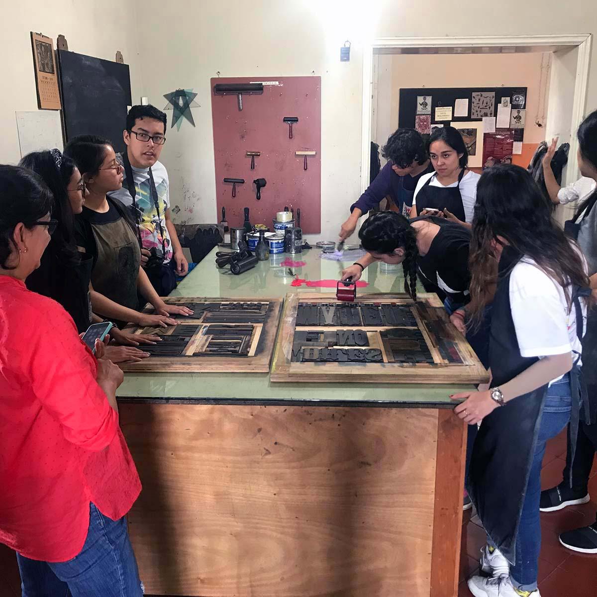 3 / 8 - Visitas Académicas a La Ceiba Gráfica