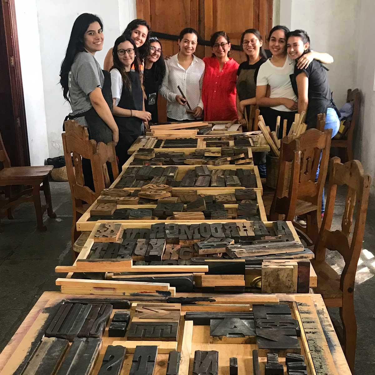 4 / 8 - Visitas Académicas a La Ceiba Gráfica