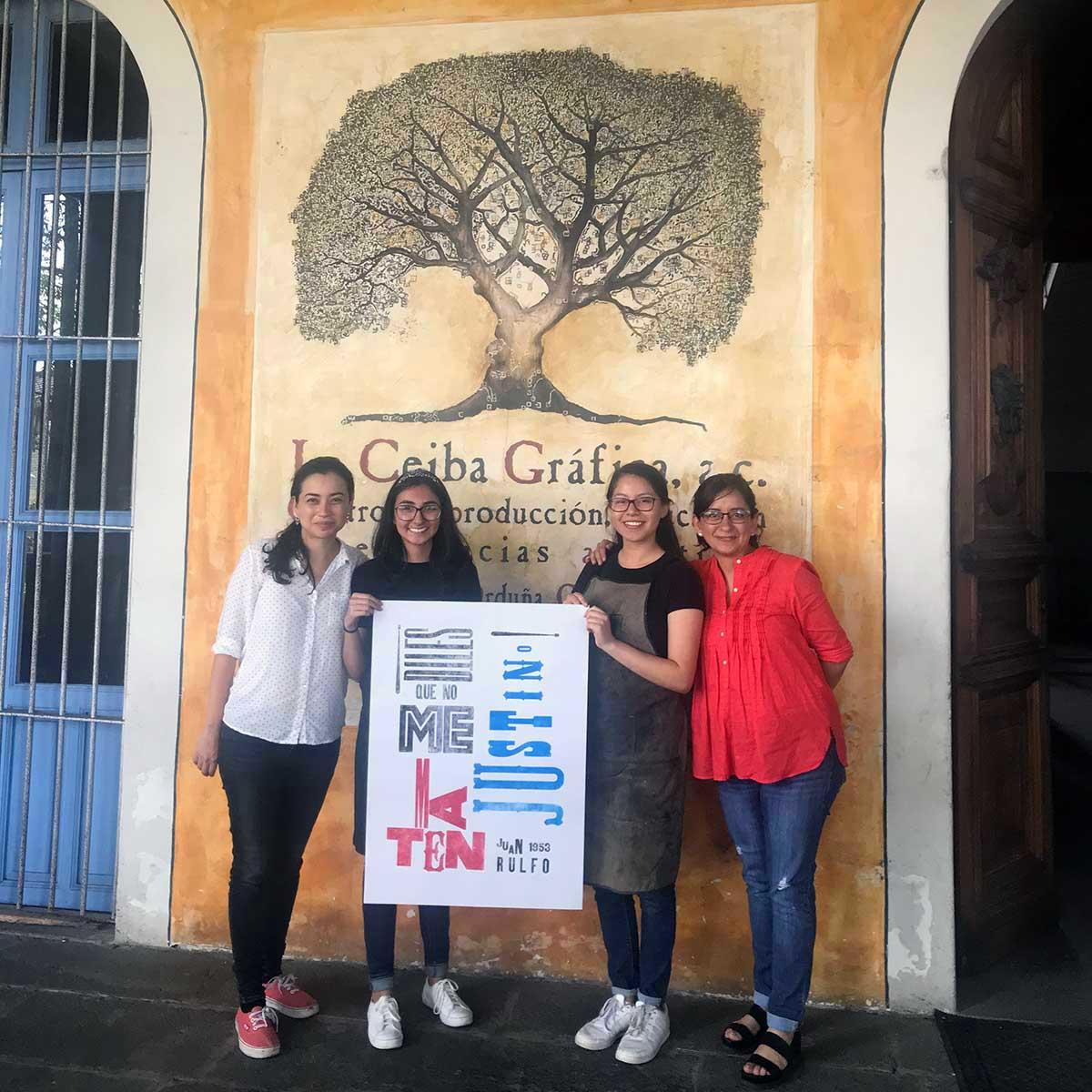 7 / 8 - Visitas Académicas a La Ceiba Gráfica
