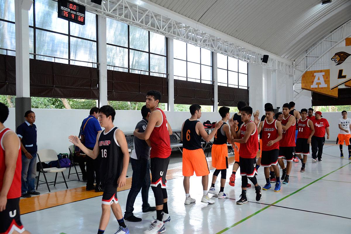 10 / 12 - Basquetbol Varonil vence a UPAEP Tehuacán