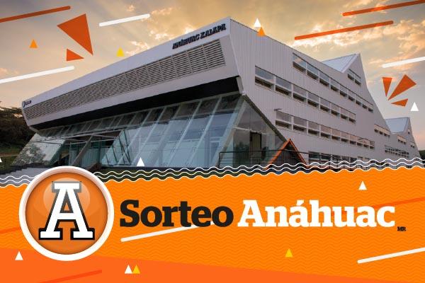 Sorteo Anáhuac 2018