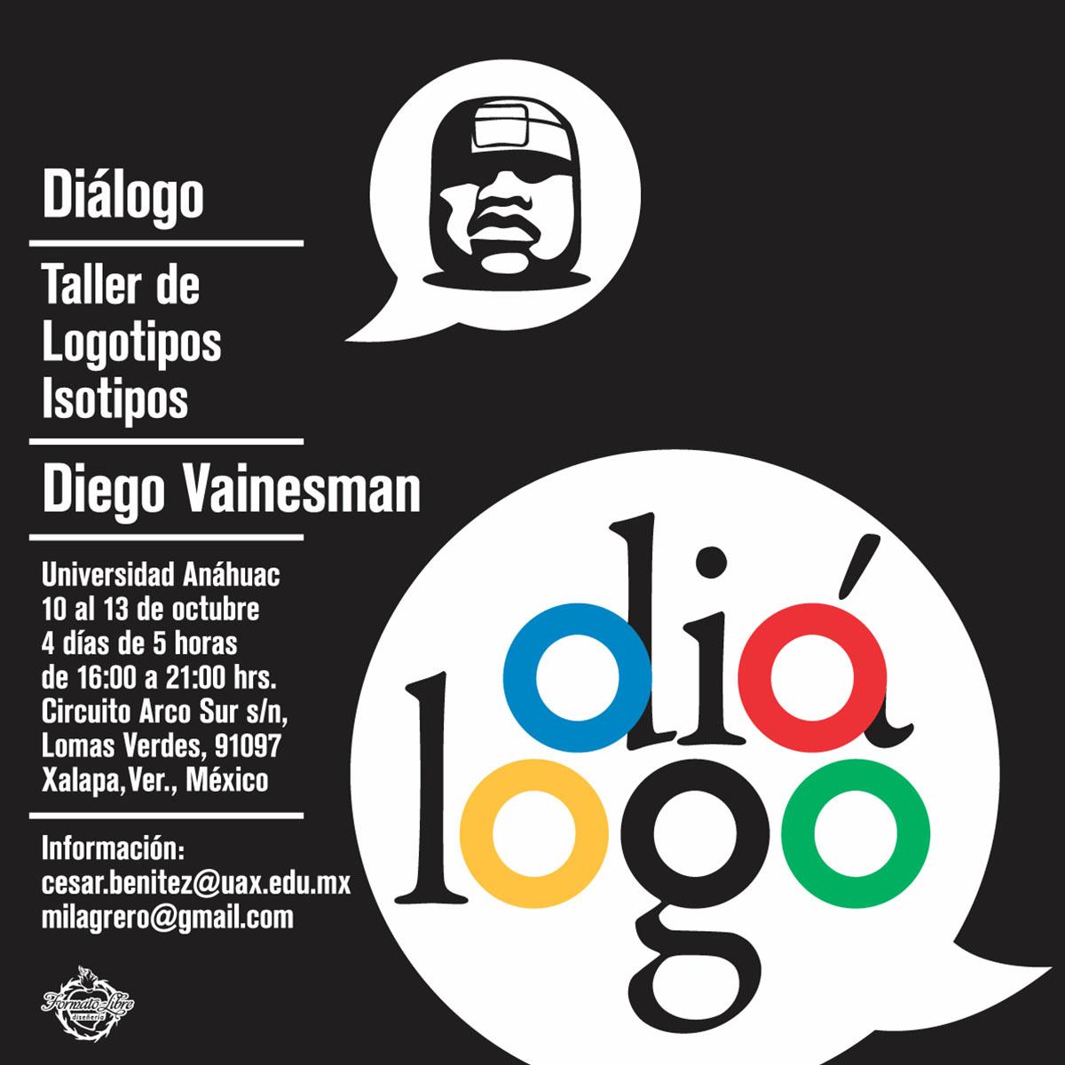 Diego Vainesman: Taller de Logotipos Isotipos