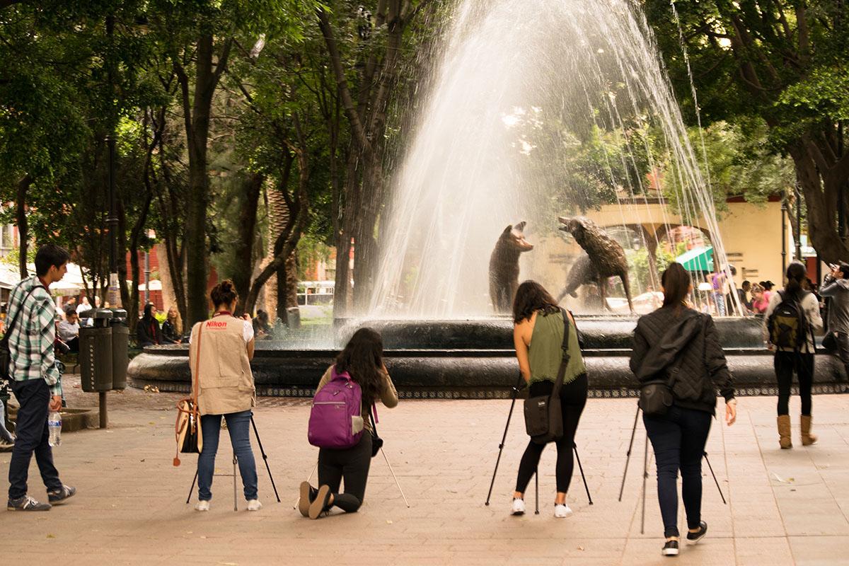 2 / 4 - Viaje de prácticas del Taller de Fotografía a CDMX