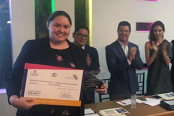 La Universidad Anáhuac Xalapa presente en la entrega del Premio Ciudadano Kybernus Veracruz 2018