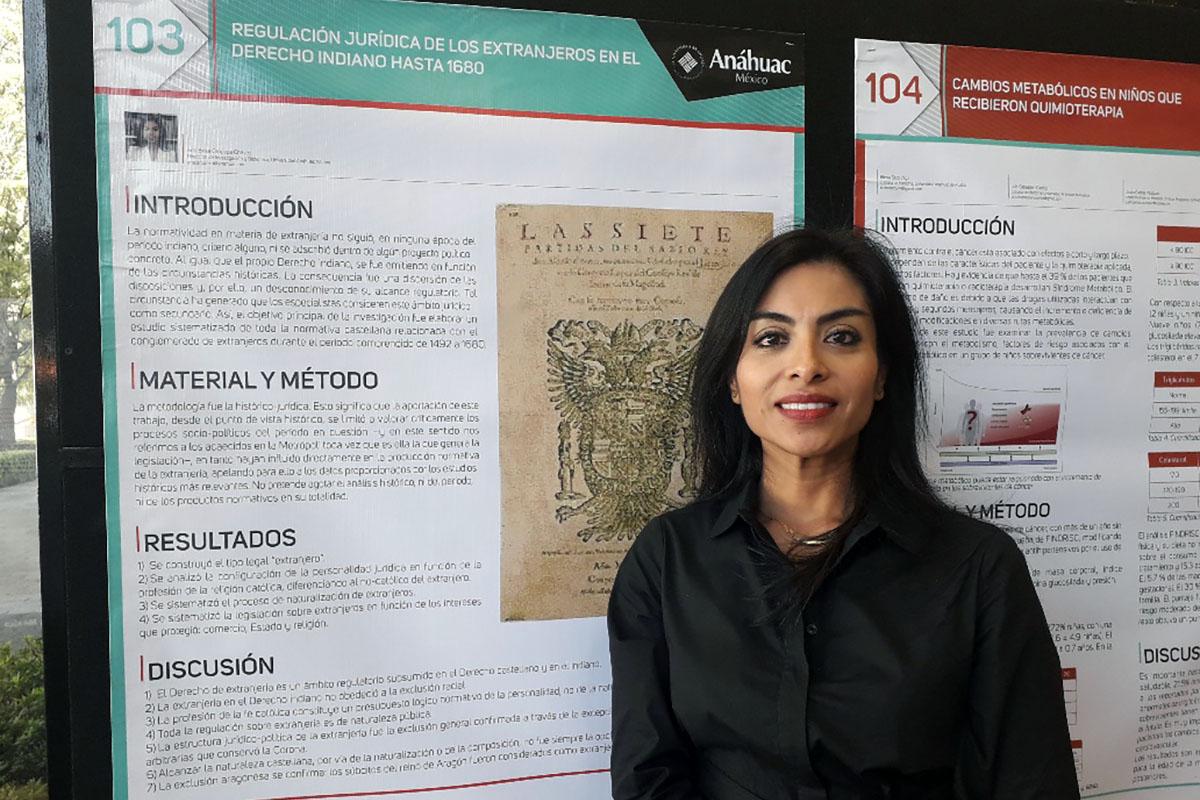 Dra. Ana Brisa Oropeza Chávez, Directora de Investigación y Biblioteca.