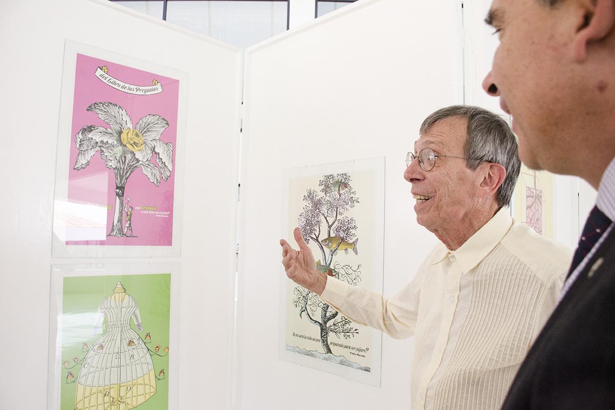 2 / 4 - Expo de Carteles de Ñiko: El libro de las Preguntas