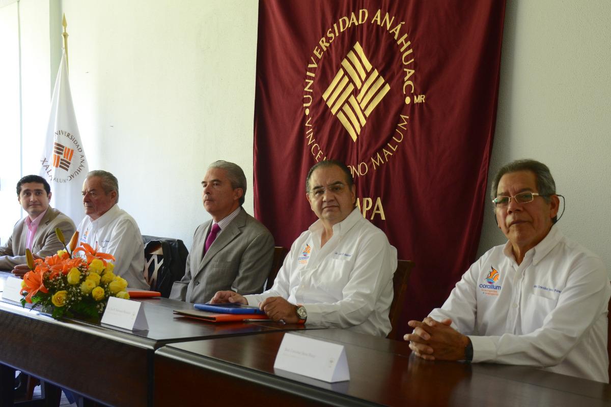 1 / 4 - Corallium y Anáhuac firman convenio en pro del Desarrollo Sustentable