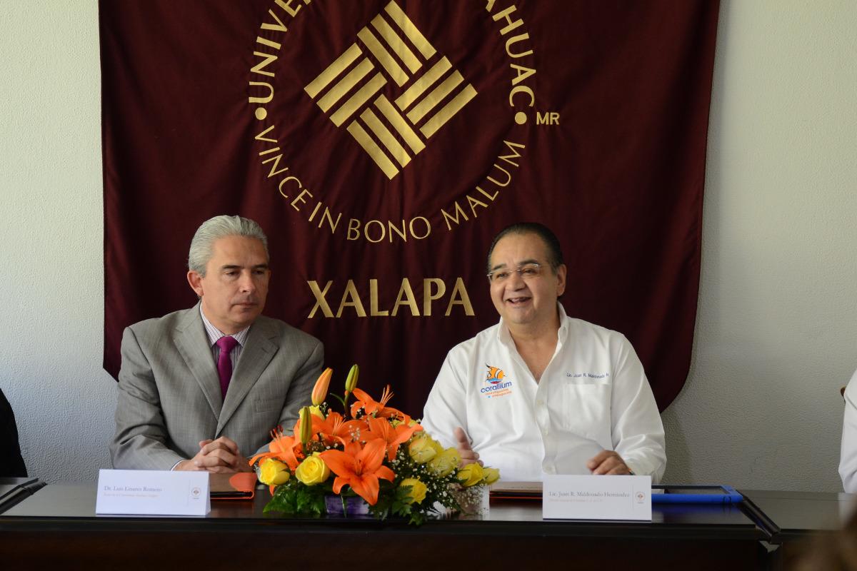 2 / 4 - Corallium y Anáhuac firman convenio en pro del Desarrollo Sustentable