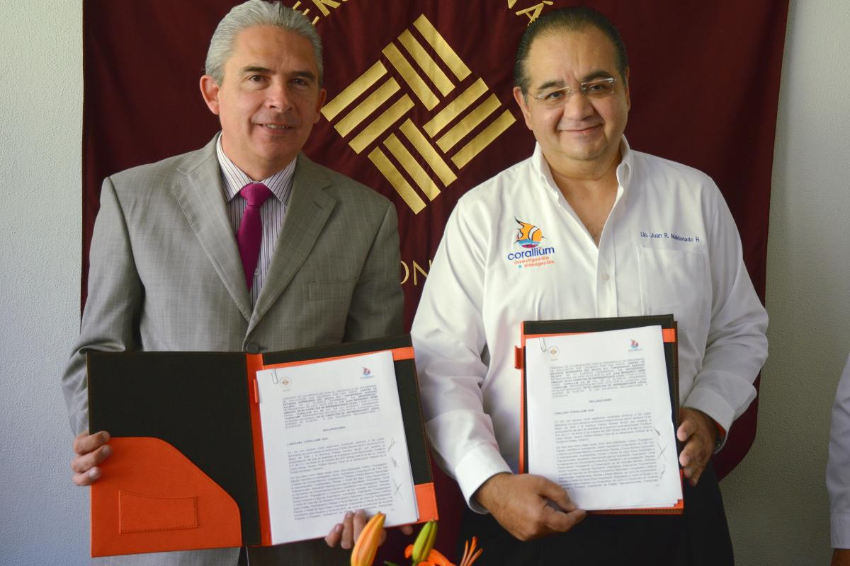 4 / 4 - Corallium y Anáhuac firman convenio en pro del Desarrollo Sustentable