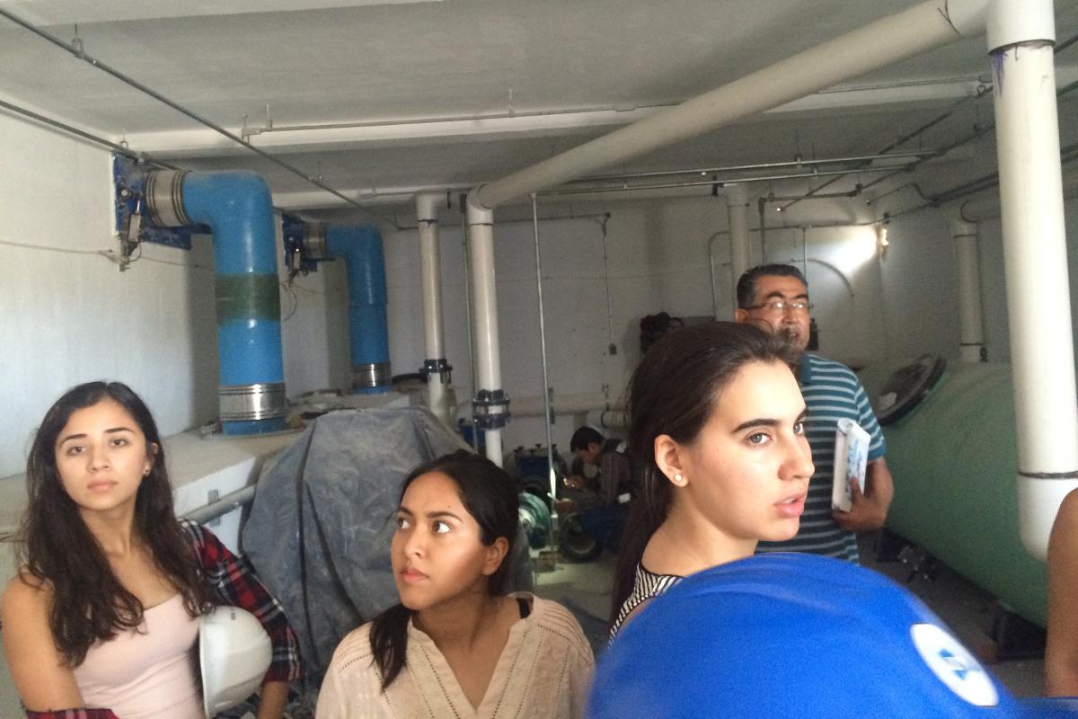 3 / 8 - Visita académica a la obra del Parque Acuático Inbursa en Boca del Río