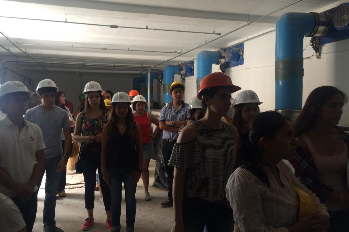 4 / 8 - Visita académica a la obra del Parque Acuático Inbursa en Boca del Río