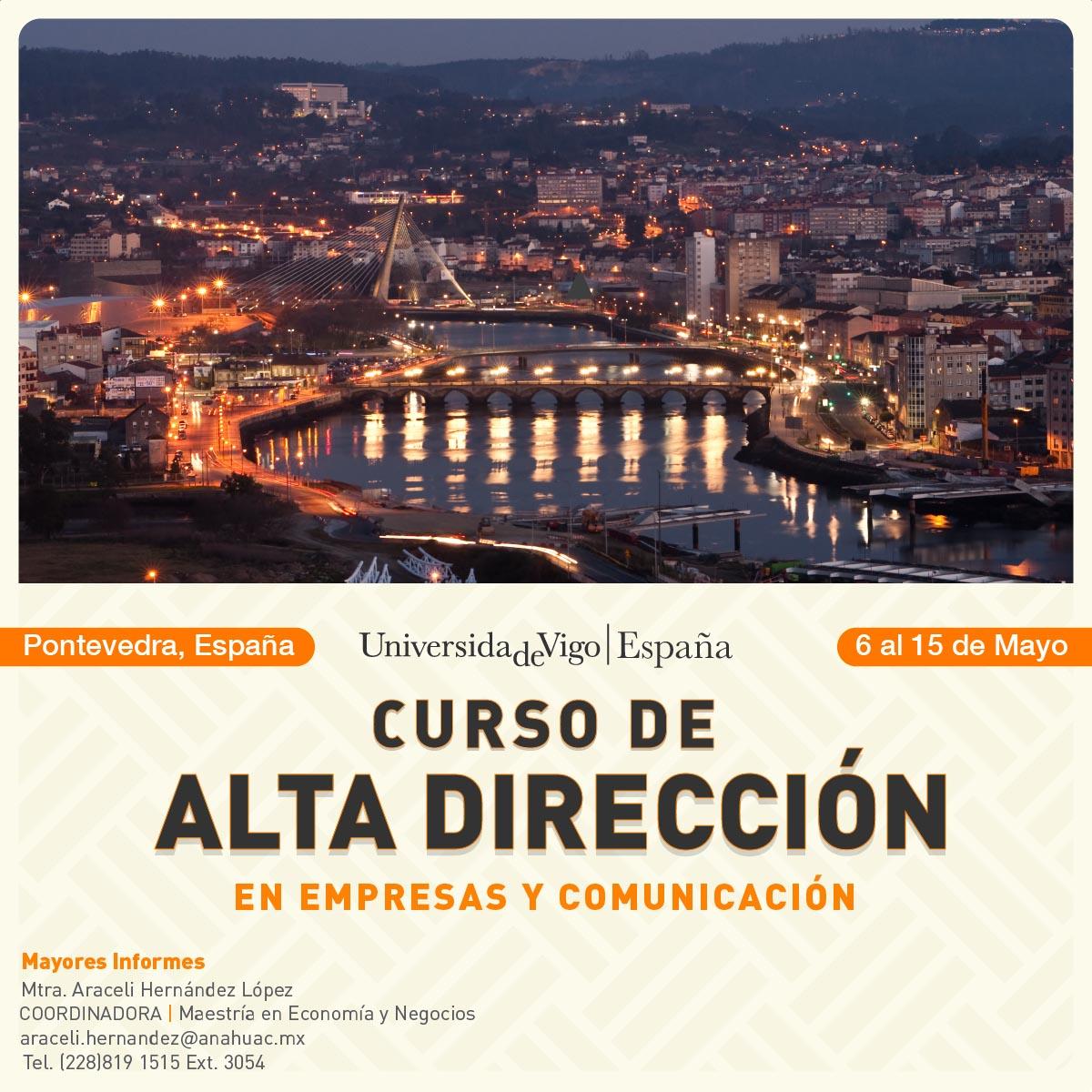 Curso de Alta Dirección en Empresas y Comunicación, España