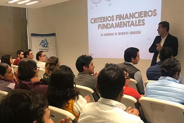 Figuras Jurídicas para el Emprendimiento: Taller conjunto entre la Universidad Anáhuac Xalapa, Kybernus y COPARMEX