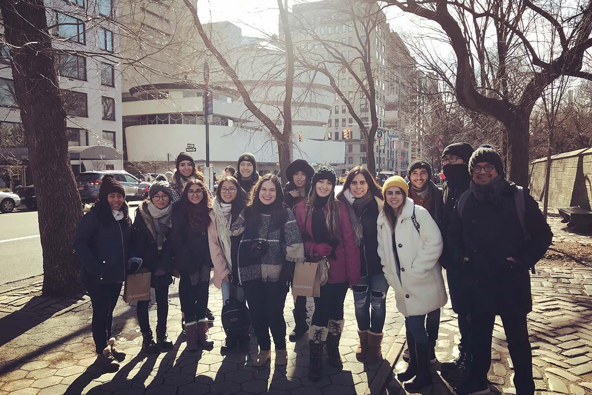 3 / 14 - Viaje Académico Internacional de Alumnos de Diseño Gráfico a Nueva York