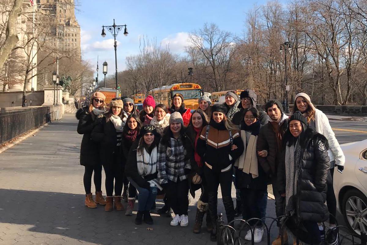4 / 14 - Viaje Académico Internacional de Alumnos de Diseño Gráfico a Nueva York
