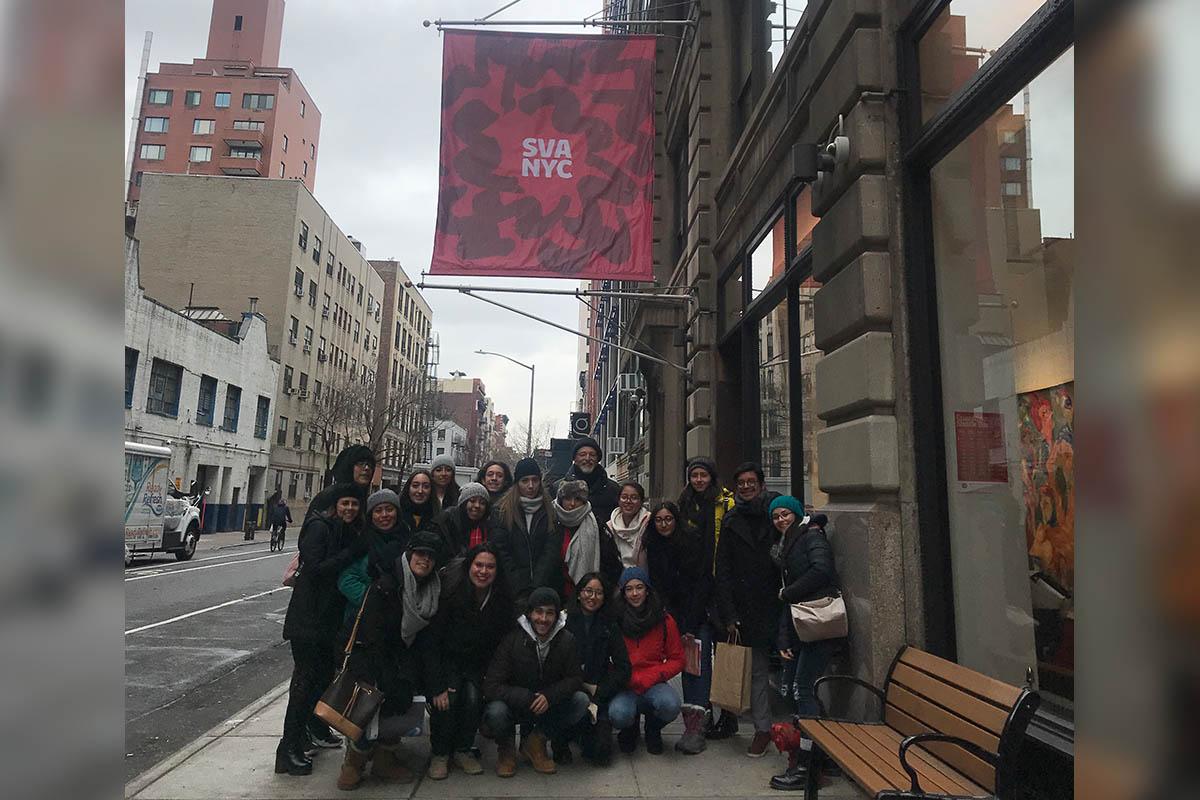 10 / 14 - Viaje Académico Internacional de Alumnos de Diseño Gráfico a Nueva York