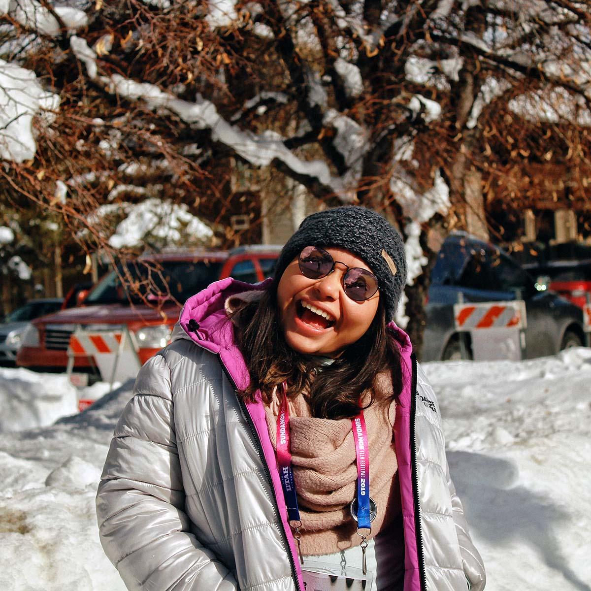 2 / 3 - Alumna de Dirección de Empresas de Entretenimiento realiza Práctica Profesional como voluntaria en el Festival Sundance