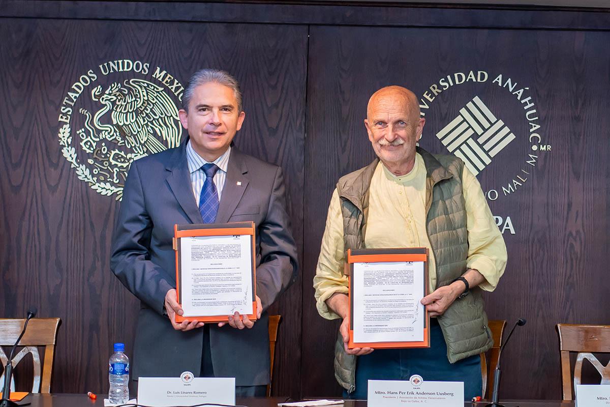 5 / 5 - Dr. Luis Linares Romero y Mtro. Hans Per Erik Anderson Uusberg.