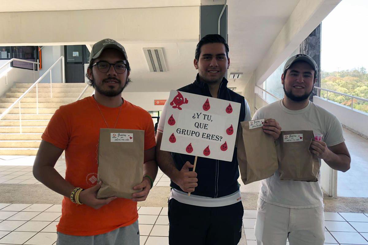 6 / 8 - Segunda Campaña de Donación de Sangre SAVE LIFE / GIVE BLOOD