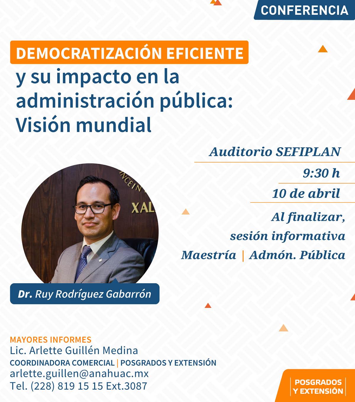 Democratización Eficiente y su Impacto en la Administración Pública