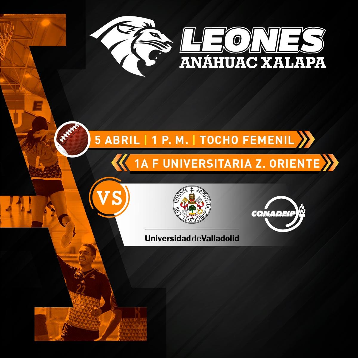 Tocho Femenil CONADEIP: Leonas vs Universidad de Valladolid