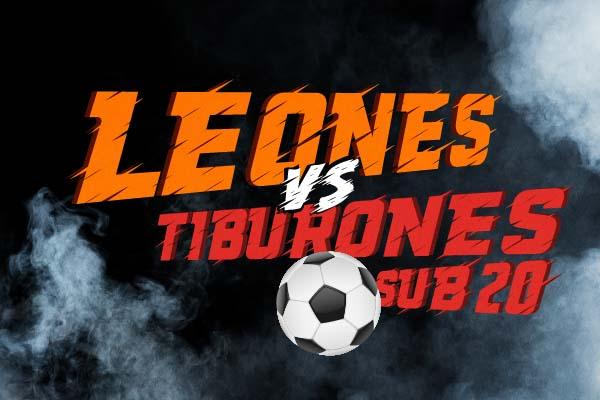 Leones Anáhuac vs Tiburones Sub 20