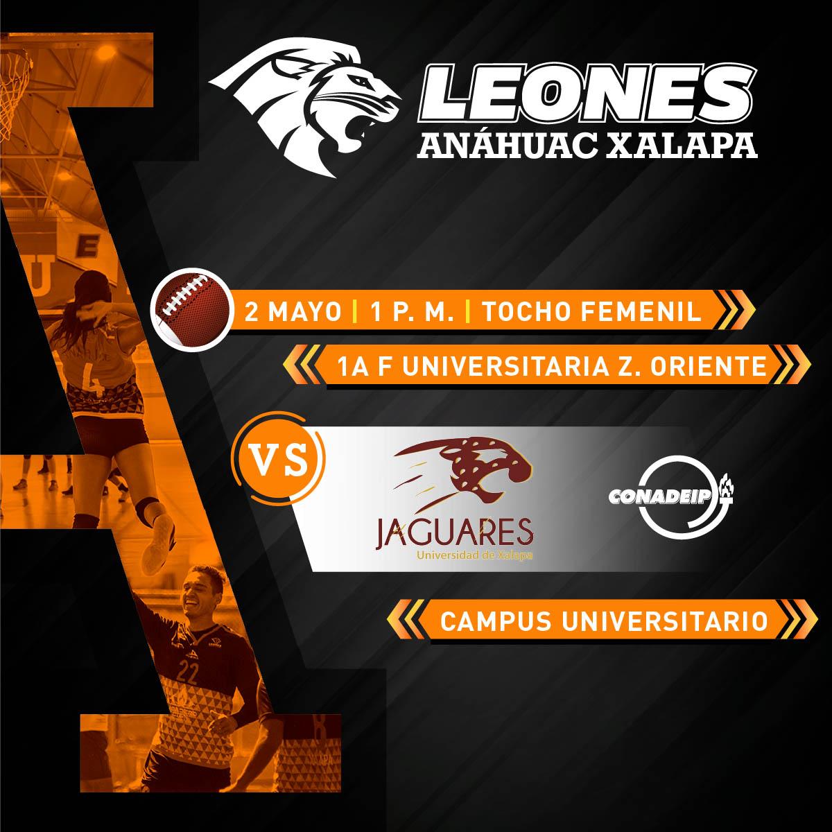 Tocho Femenil CONADEIP: Leonas vs Universidad de Xalapa