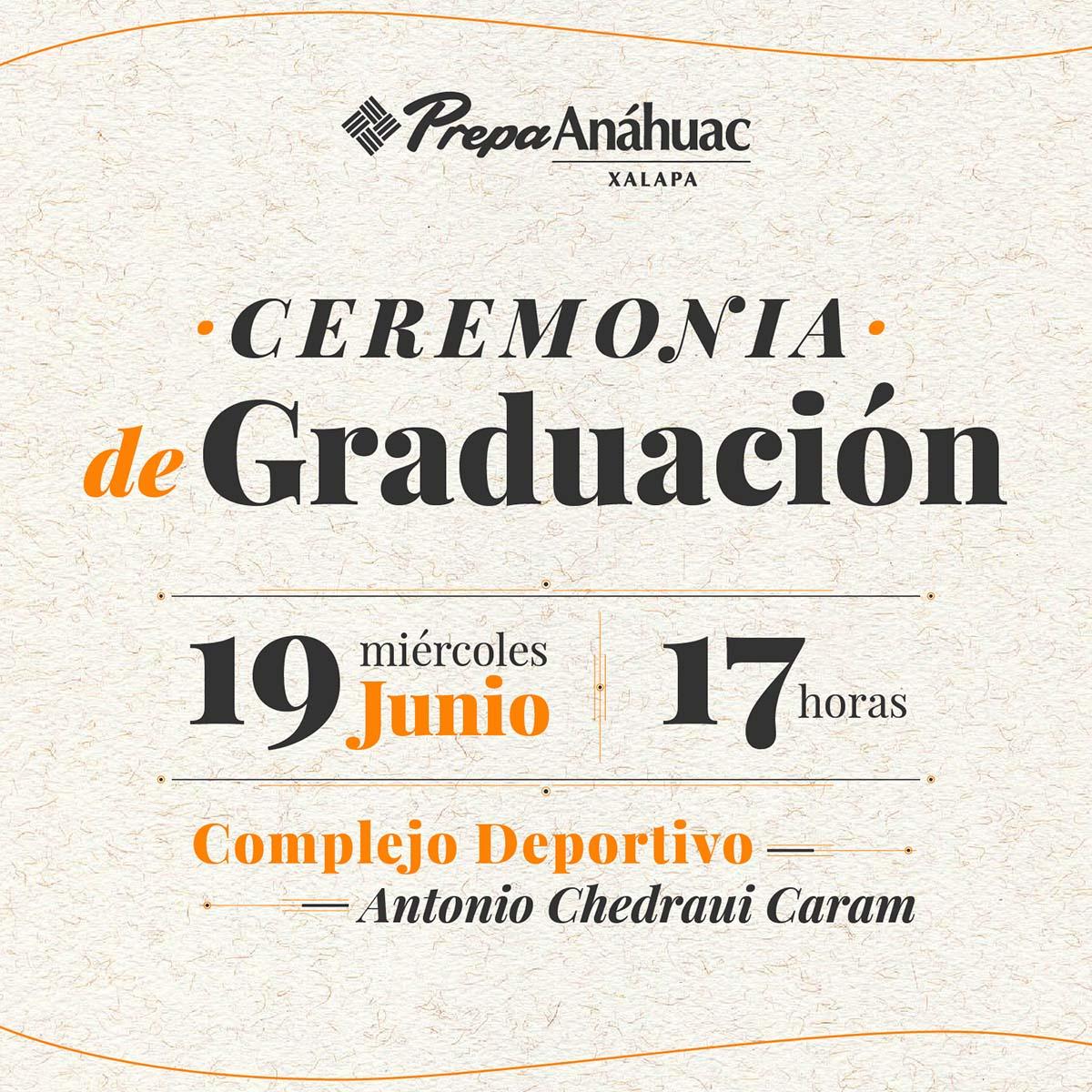 Ceremonia de Graduación 2019
