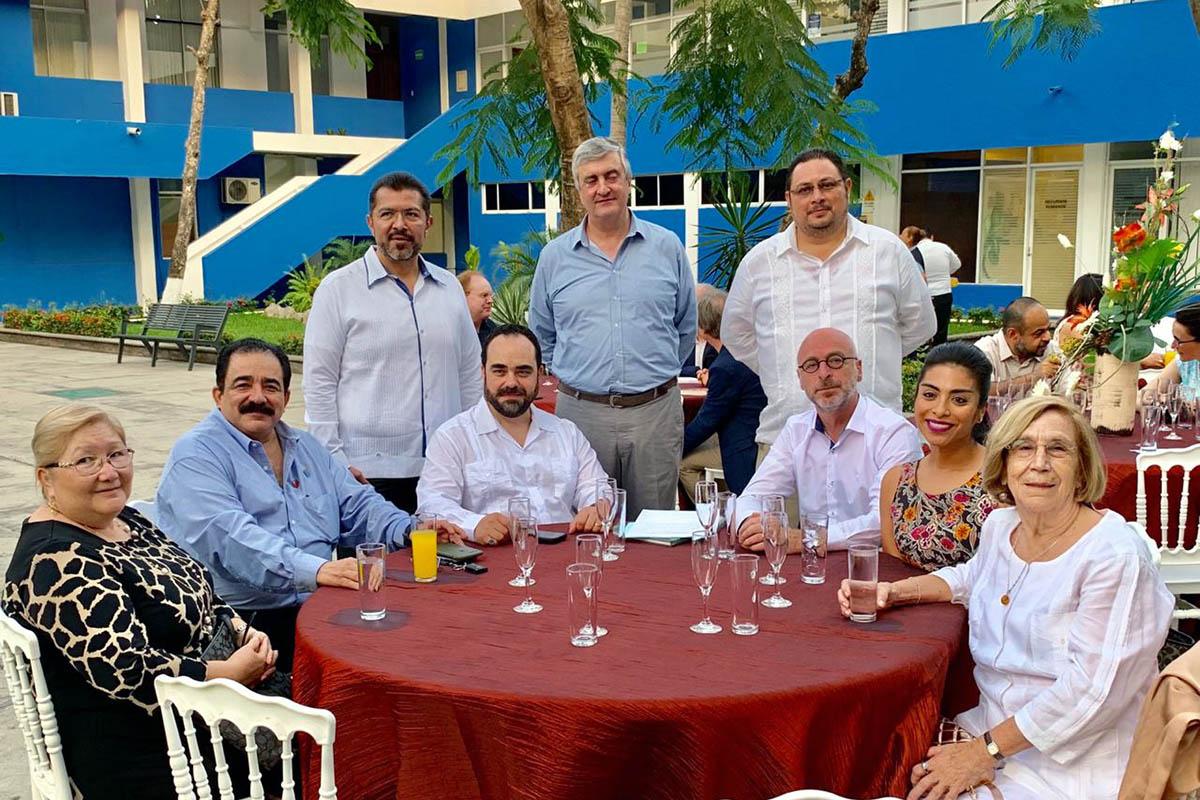 Participación de la Universidad Anáhuac Xalapa en Seminario Internacional de Historia del Derecho