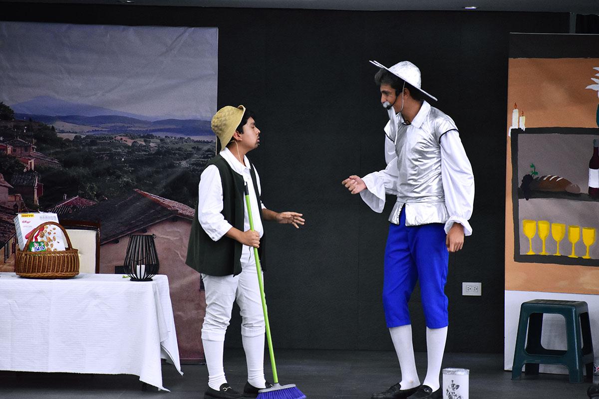 1 / 14 - Obra de Teatro: El Ingenioso Hidalgo Don Quijote de la Mancha
