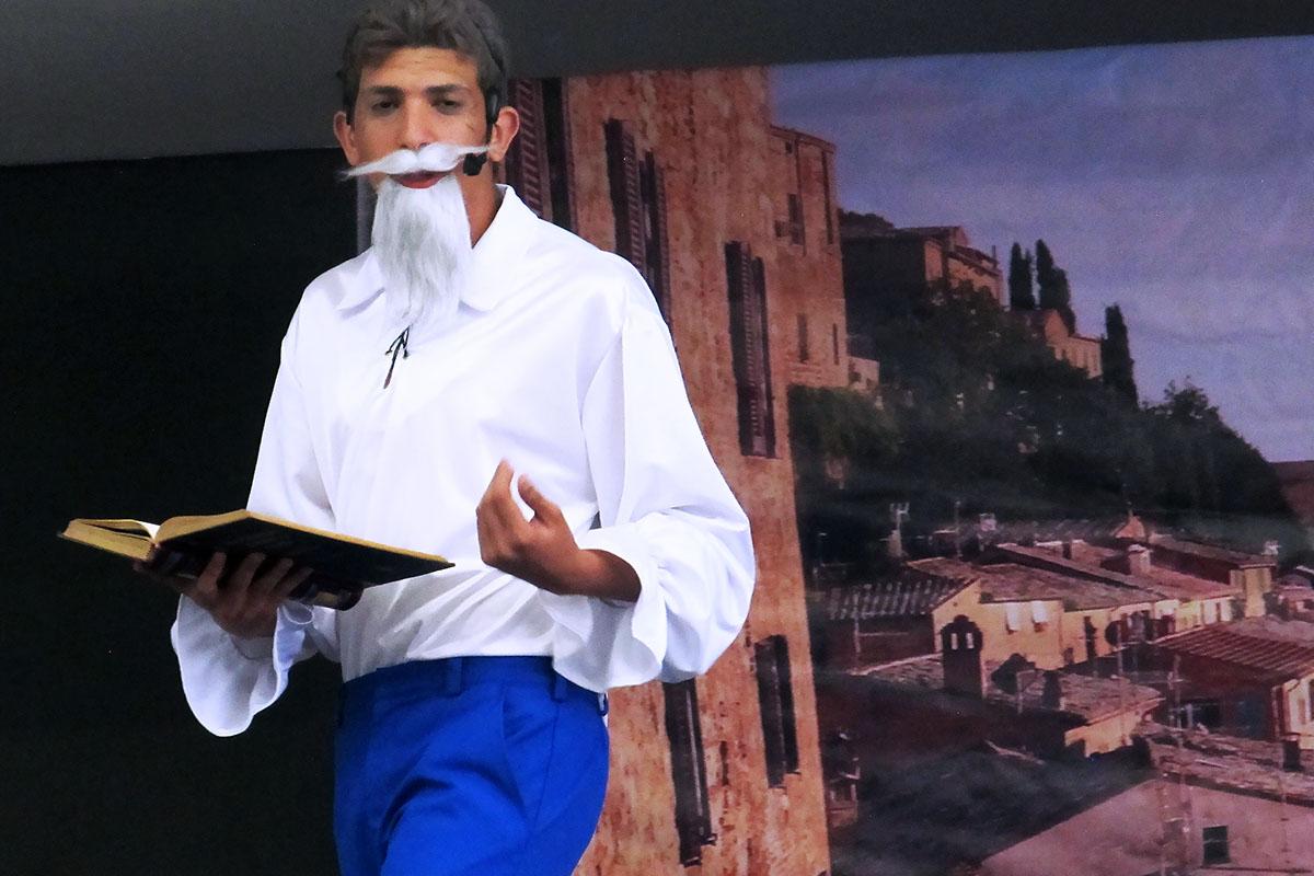 8 / 14 - Obra de Teatro: El Ingenioso Hidalgo Don Quijote de la Mancha