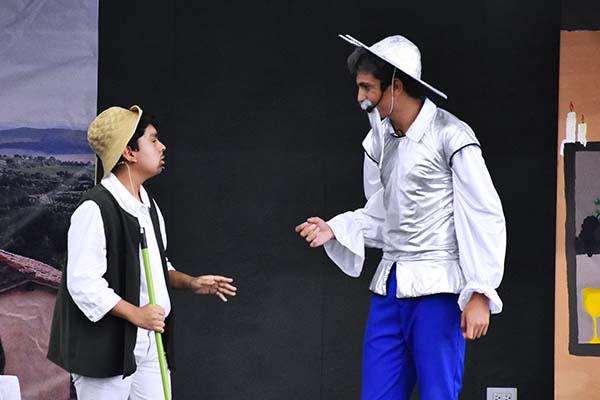 Obra de Teatro: El Ingenioso Hidalgo Don Quijote de la Mancha