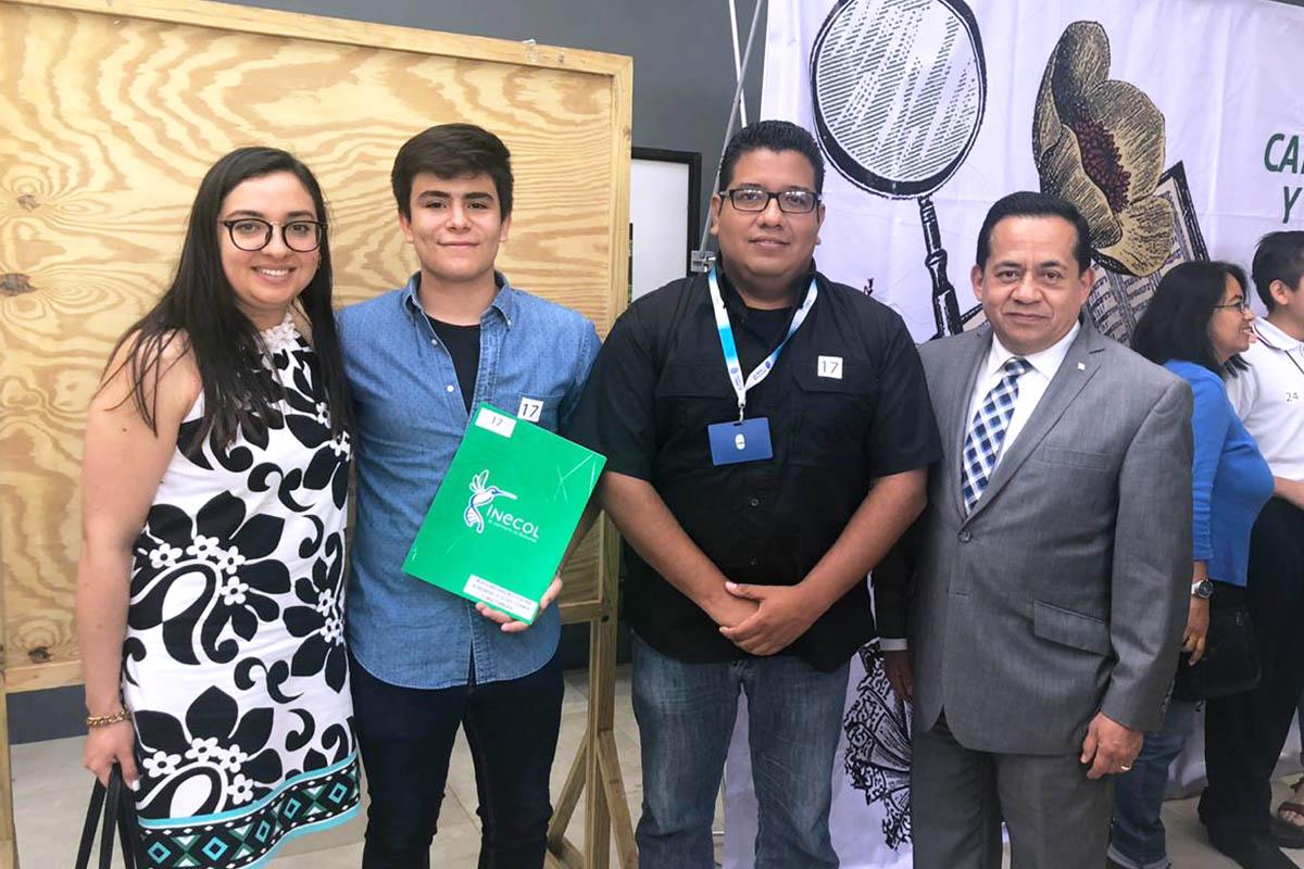 1 / 3 - MCA Anna Regina Landa Becerra, Ricardo Suárez Arenas y Mtro. Alfredo Torreblanca.