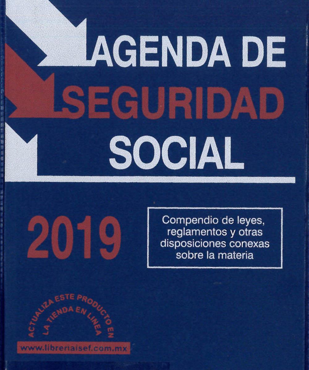9 / 12 - KGF1980.A4 A44 Agenda de Seguridad Social - ISEF, México 2019