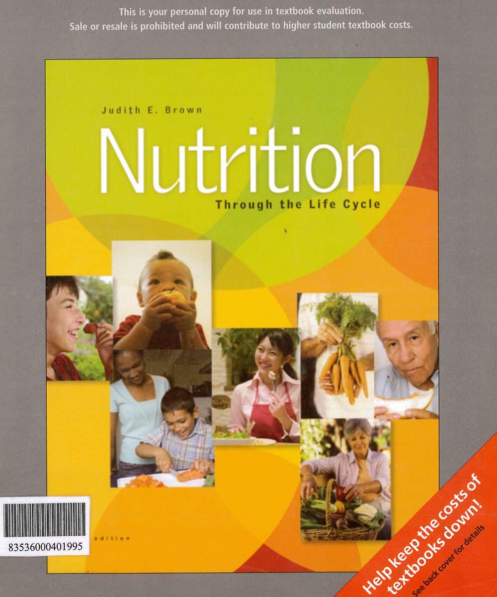 6 / 10 - QP141 B76 2008 Nutrition, JUDITH E. BROWN - THOMSON, México 2008