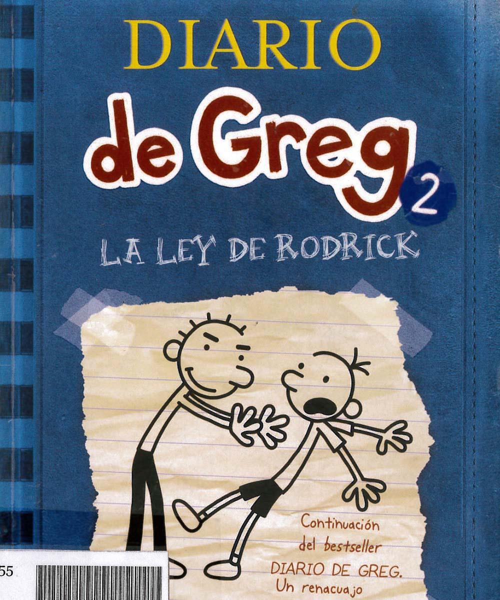 8 / 10 - PZ73 K55 C.1 V.2 Diario de Greg 2, JEFF KINNEY  - OCEANO, México 2009