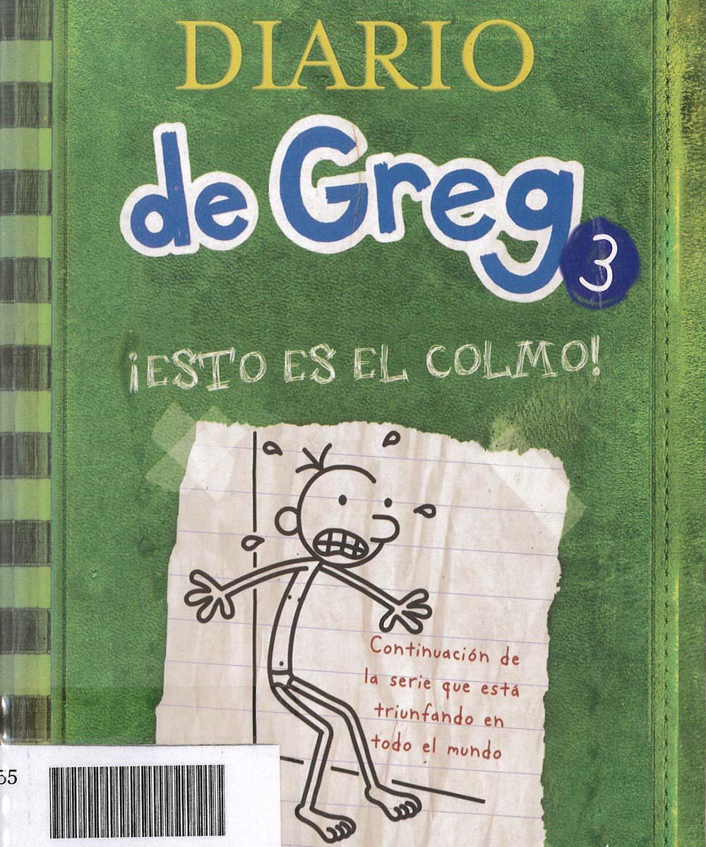 9 / 10 - PZ73 K55 C.1 V.3 Diario de Greg 3, JEFF KINNEY  - OCEANO, México 2010